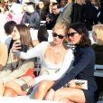 Jeanne Damas, Emily Ratajkowski, Chiara Ferragni et Bruna Marquezine - Défile de mode Jacquemus, collection prêt-à-porter printemps-été 2019 à l'ambassade d'Italie à Paris le 24 septembre 2018. © CVS / Veeren / Bestimage