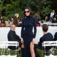La compagne de Neymar Jr., Bruna Marquezine - Défile de mode Jacquemus, collection prêt-à-porter printemps-été 2019 à l'ambassade d'Italie à Paris le 24 septembre 2018. © CVS / Veeren / Bestimage