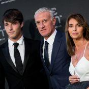 Didier Deschamps : Son sacre sous les yeux de Claude et de leur fils Dylan