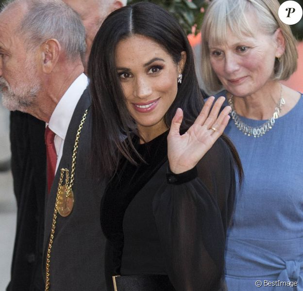 """Meghan Markle, duchesse de Sussex inaugure l'exposition """"Oceania"""" le 25 septembre à Londres  25 September 2018. Meghan Duchess of Sussex arrives at the Oceania Exhibition at the Royal Academy in London.25/09/2018 - Londres"""