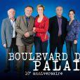 Anne Richard et l'équipe de Boulevard du Palais.