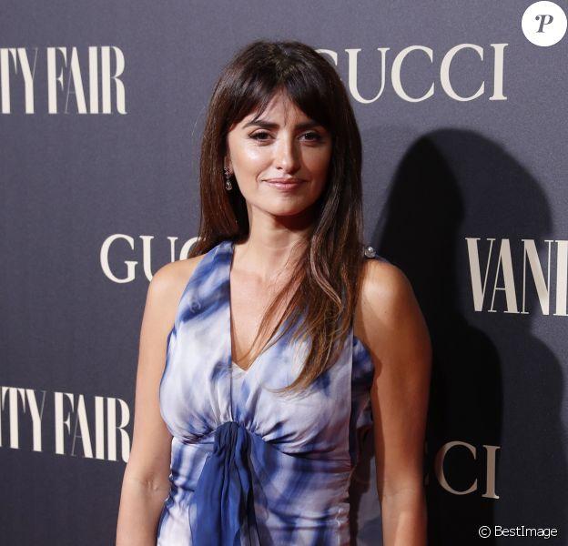 """Penélope Cruz au photocall de la soirée """"Vanity Fair Awards"""" à Madrid, le 26 septembre 2018."""