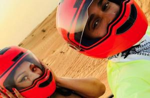 Nicki Minaj et Lewis Hamilton en couple ? Virée romantique dans le désert...