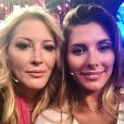 Loana et Camille Cerf sur le plateau de VTEP, septembre 2018.