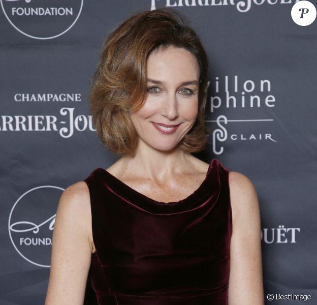 Elsa Zylberstein (invitée d'honneur) - Dîner de gala M foundation au Pavillon Dauphine à Paris, France, le 1er octobre 2018. © Christophe Aubert/Bestimage
