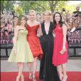 """Sarah Jessica Parker, Kim Cattrall, Cynthia Nixon et Kristin Davis - Première du film """"Sex And The City """" à l'Odeon Leicester Square à Londres, le 13 mai 2008."""