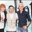 Tom Felton et Daniel Radcliffe à Londres en 2009.