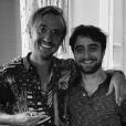 Tom Felton et Daniel Radcliffe le 5 octobre 2018.