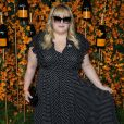 "Rebel Wilson à la 9ème édition du ""Veuve Clicquot Polo Classic"" au Will Roger State Historic Park à Los Angeles, le 6 octobre 2018."