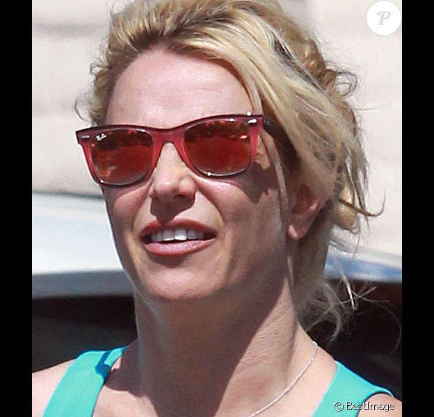 Exclusif - Britney Spears dans les rues de Los Angeles, le 27 septembre 2018.