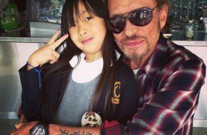 Jade Hallyday : Touchante pour se souvenir de son papa, son héros