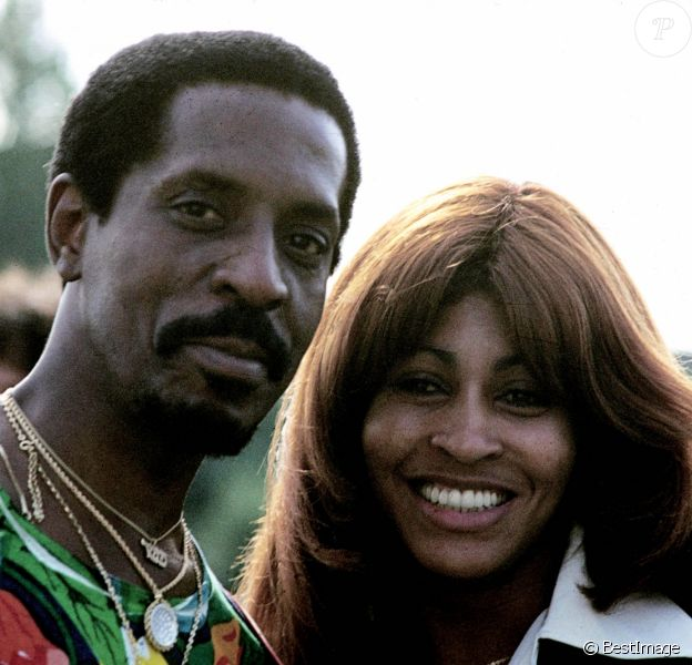 Ike et Tina Turner en Allemagne dans les années 70.
