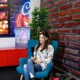 Exclusif - Capucine Anav dans les locaux de Webedia pour une interview pour Purepeople.com à Levallois-Perret le 10 octobre 2018.