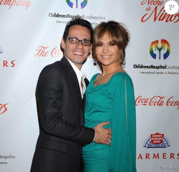 Jennifer Lopez et son mari Marc Anthony étaient hier à la soirée Noche de Ninos en faveur des enfants hospitalisés à Los Angeles