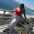Sarah Fraisou (Les Anges 10 ) dévoile sa nouvelle silhouette sur Instagram. Mai 2018.