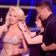 """Pamela Anderson dans """"Danse avec les stars 9"""" sur TF1, le 29 septembre 2018."""