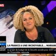 Marianne James sur CNews, 30 octobre 2018