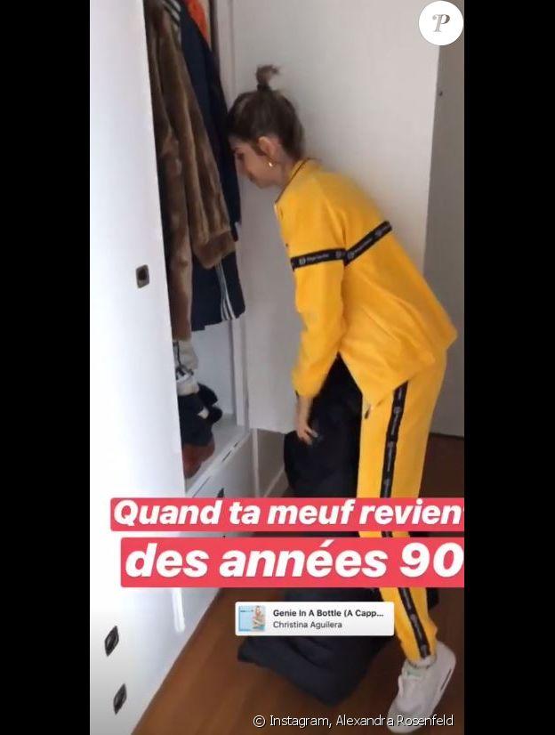 Alexandra Rosenfeld moquée par Hugo Clément - Instagram, 30 octobre 2018