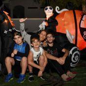 Céline Dion et ses enfants, déformés, pour Halloween !