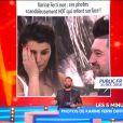 Cyril Hanouna réagit après que Karine Ferri et TF1 ont saisi le CSA contre TPMP, le 1er novembre 2018.