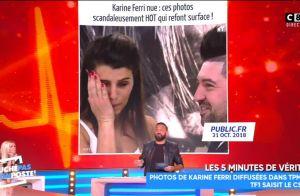 Karine Ferri - TPMP, ses photos volées: Elle attaque Cyril Hanouna, le CSA saisi