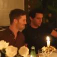 Mika et son petit ami Andy, le 31 décembre 2015.