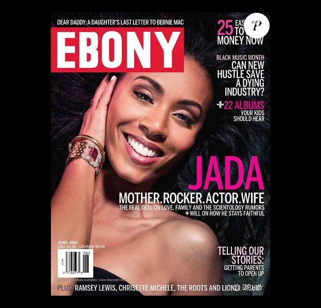 Jada Pinkett Smith en couverture du magazine Ebony !