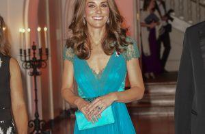 Kate Middleton radieuse dans une robe déjà portée, avant ses trois grossesses !