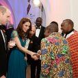 """Le prince William, duc de Cambridge, et Catherine (Kate) Middleton, duchesse de Cambridge, à la soirée des """"Tusk Conservation Awards"""" à la Banqueting House à Londres, le 8 novembre 2018."""