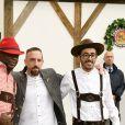 Franck Ribery - People lors de l'Oktoberfest à Munich. Le 7 octobre 2018.