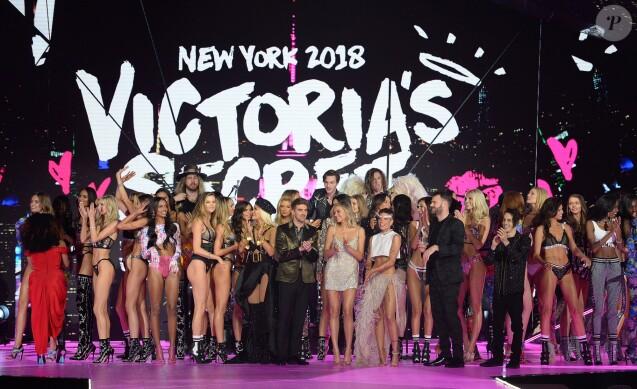 Final du défilé Victoria's Secret à New York, le 8 novembre 2018.