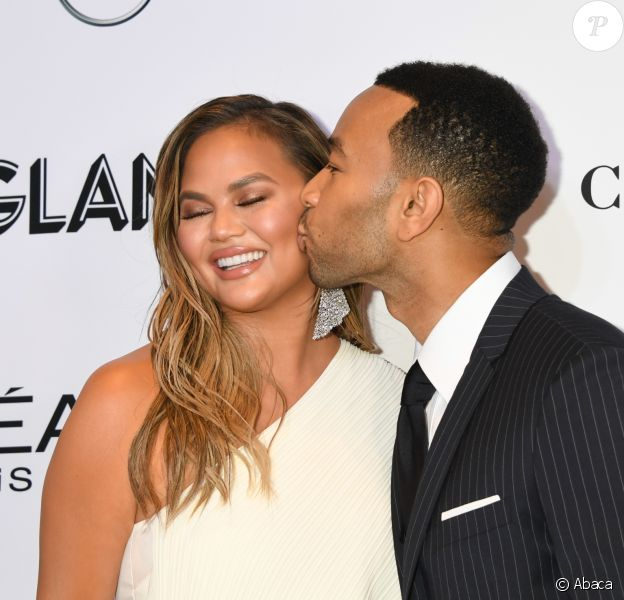 Chrissy Teigen, John Legend - Soirée des 2018 Glamour Women Of the Year Awards: Women Rise aux studios Spring à New York City, le 12 novembre 2018.
