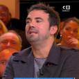 """Alex Goude et Matthieu Delormeau règlent leurs comptes dans """"Touche pas à mon poste"""" (C8) mardi 13 novembre 2018."""