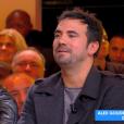 """Alex Goude et Matthieu Delormeau s'expliquent en direct dans """"Touche pas à mon poste"""" (C8) mardi 13 novembre 2018."""