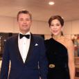 Le prince Frederik et la princesse Mary de Danemark au palais de Buckingham à Londres le 14 novembre 2018 pour le dîner du 70e anniversaire du prince Charles, photo du compte Instagram de la cour danoise.