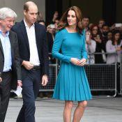 Kate Middleton lumineuse au côté d'un William qui ne mâche pas ses mots...