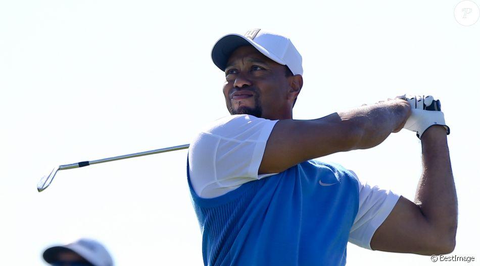 Tiger Woods lors du Golf Farmers Insurance Open à San Diego, Californie, Etats-Unis, le 26 janvier 2017. © Debby Wong/Zuma Press/Bestimage