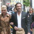 Exclusif - Ivana Trump et son mari Rossano Rubicondi se baladent en amoureux dans les rues de New York, le 14 mai 2018.
