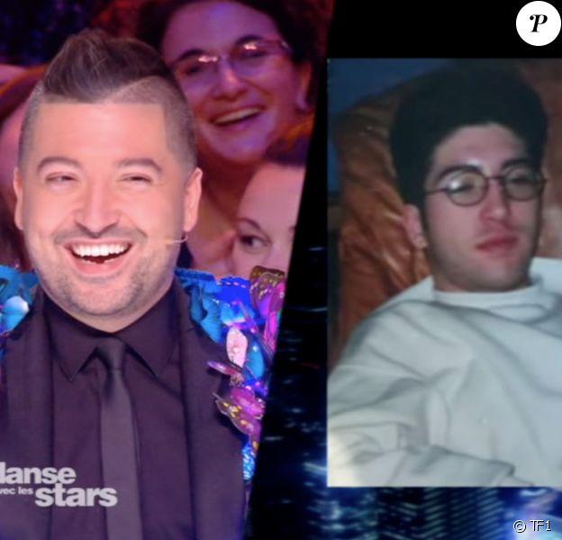 """Une photo de Chris Marques adolescent dévoilée samedi 17 novembre 2018 au cours des quarts de finale de """"Danse avec les stars 9"""" (TF1)."""
