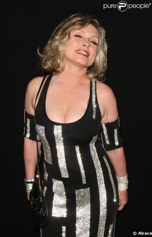 Debbie Harry à la Belvedere Party qui se tenait au Baron, à l'Hôtel 3.14 à Cannes, le 15 mai 2009
