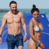 David Guetta, 51 ans, exhibe son corps musclé au côté de sa chérie Jessica Ledon