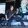 Johnny Hallyday à St Etienne lors de sa tournée d'adieux, le Tour 66, mai 2009
