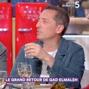 """Gad Elmaleh, ému à l'évocation de son ex : """"C'est le plus beau souvenir"""""""