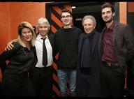 Daniel Guichard fête ses 70 ans avec ses enfants à l'Olympia