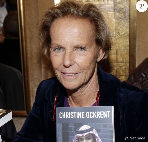 Christine Ockrent lors de la soirée du 41ème cocktail des écrivains du Cercle MBC dans les salons du Fouquet's à Paris, France, le 28 novembre 2018. © Cedric Perrin/Bestimage