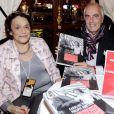 Caroline Pigozzi et Philippe Goulliaud lors de la soirée du 41ème cocktail des écrivains du Cercle MBC dans les salons du Fouquet's à Paris, France, le 28 novembre 2018. © Cedric Perrin/Bestimage