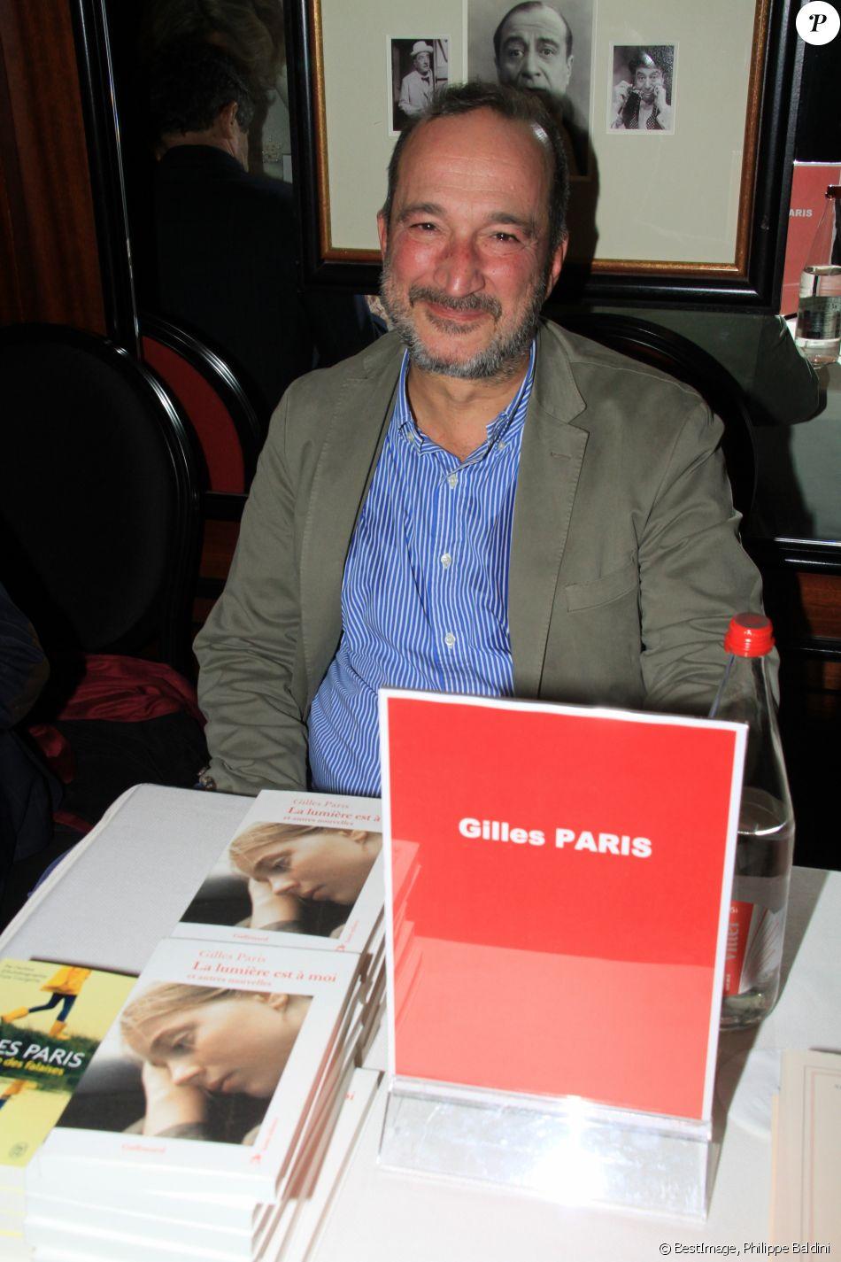 Gilles Paris lors de la soirée du 41ème cocktail des écrivains du Cercle MBC dans les salons du Fouquet's à Paris, France, le 28 novembre 2018. © Philippe Baldini/Bestimage