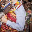 La princesse Mary de Danemark a visité la réserve naturelle de Kalama lors de son voyage au Kenya et y a rencontré les membres de la communauté, revêtant un habit traditionnel le 27 novembre 2018.