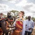 Vidéo de la visite de la princesse Mary de Danemark dans la réserve naturelle de Kalama lors de son voyage au Kenya le 27 novembre 2018.