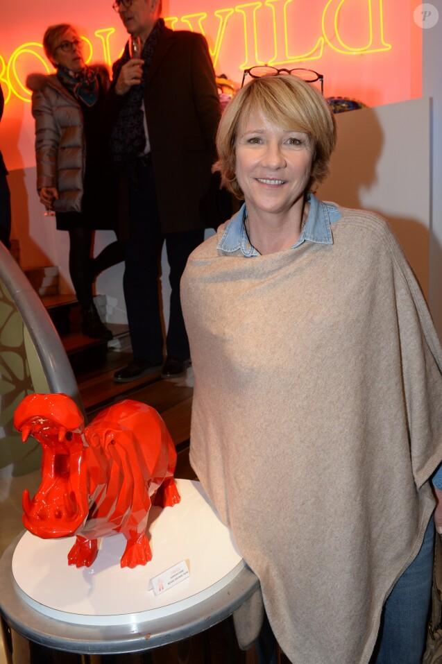 Exclusif - Ariane Massenet - La galerie Orlinski fête son premier anniversaire au 68 rue du Faubourg Saint-Honoré dans le 8ème à Paris le 29 novembre 2018. © Rachid Bellak/Bestimage